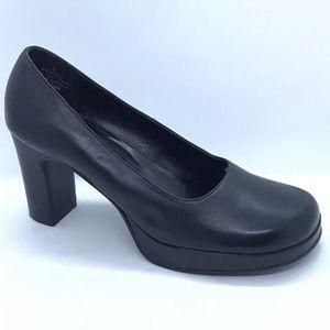 Unlisted Black Pumps Women Size 8 Block Heels